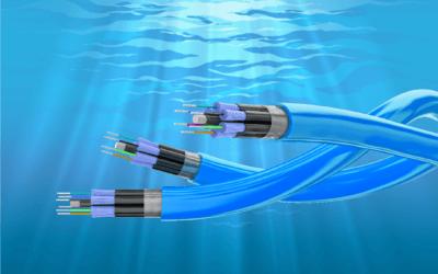 Cables de fibra óptica subterráneos y marítimos