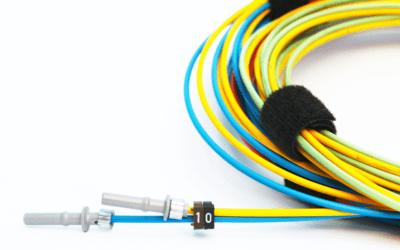 Cubierta en cables de fibra óptica